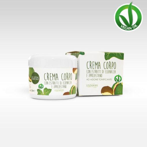 Crema corpo Echinacea e Ippocastano