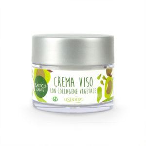 Linfaderm crema viso elasticizzante a base di collagene vegetale