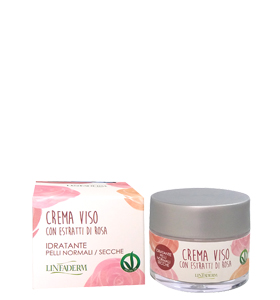 Crema viso alla rosa vegan